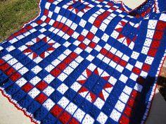 Crochet blanket quilt!