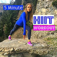 Hiit Workout (5 Minutes) that you can do anywhere