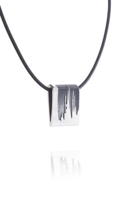 Juhana Tampere is a jewelry brand founded by two Finnish designers Men Necklace, Jewelry Branding, Silver, Money