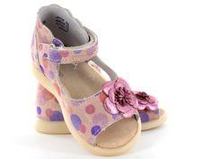 Little Mary purple sandals #LutinBotte #purple #LittleMary #GirlShoes