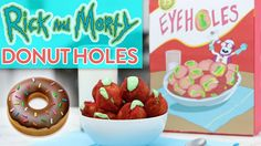 RICK AND MORTY DONUT EYEHOLES - NERDY NUMMIES