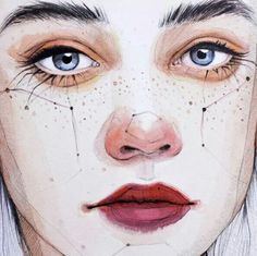 """Ana Santos-- """"I'm covered in freckles, you're covered in scars. I call yours beauty lines, and you call mine stars."""""""