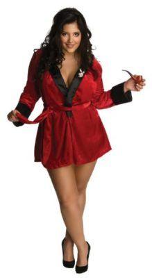 1453ecf0ed Secret Wishes Women s Plus-Size Playboy Sexy Girlfriend Red Plus Size  Costume