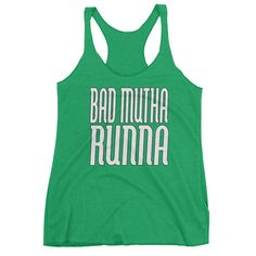 Bad Mutha Runna Racerback Tank-Top