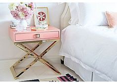 Boca Side Table, Coral | One Kings Lane