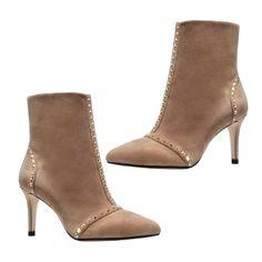 Zara Studded Ankle Boots #studs