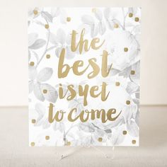 Bloomsbury floral gold foil stamped art print from Smock