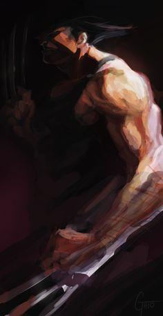 Wolverine Speed paint by JimboBox on deviantART