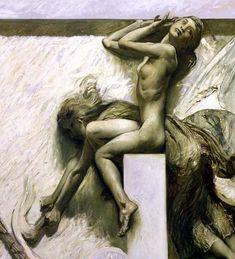 Giulio Aristide Sartorio, La Morte, c. 1900 | Flickr - Photo Sharing!