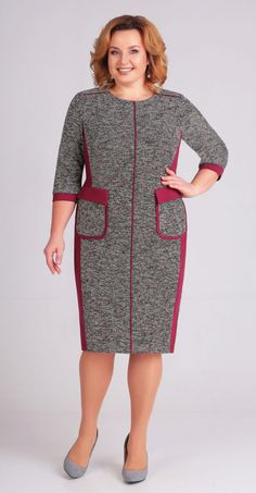 "Buy a dress in the online store … Buy dress in the online store ""Anabel"" Source link Shirt Dress Pattern, Dress Patterns, African Fashion Dresses, African Dress, Dress Outfits, Casual Dresses, Fashion Outfits, Curvy Girl Fashion, Plus Size Fashion"