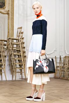 The complete Christian Dior Pre-Fall 2014 fashion show now on Vogue Runway.
