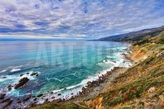 The Pacific Ocean Photographic Print by David Toussaint at Art.com