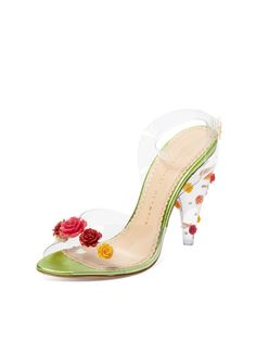 b258d04c972 I See Right Through You PVC Sandal by Charlotte Olympia at Gilt Charlotte  Olympia