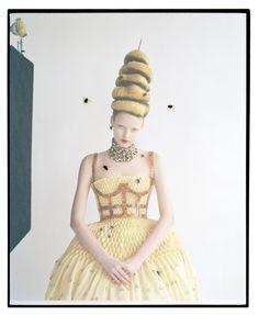 Elza Luijendijk by Tim Walker for Vogue March 2013