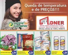 Encartes de Supermercados: Encarte Goldner - válido até 19/08