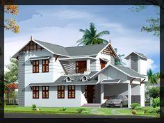 2100.00 Sq.ft #residentialhouse Construction cost; 1850.00 Per Sq.ft. Contact us.#europeanmodelhome #EuropeanTypeKitchenModel #Keralabuildersdirectory