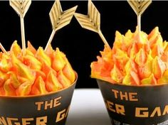 VIDEO: Make Your Own Catching Fire Cupcakes