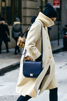 Wrapped Up | NYFW Street Style