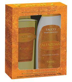 Estojo Alfazema Classic Colônia + Talco