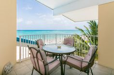 Balcony Overlooking 7 Mile Beach Grand Cayman, Outdoor Furniture Sets, Outdoor Decor, Balcony, Patio, Vacation, Beach, Home Decor, Vacations