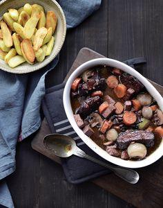 Sébastien Kardinal prouve que l'on peut se lécher les babines en concoctant les traditionnels plats français de nos grands-mères... façon végétarienne.