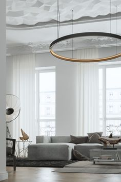 Living in an apartment, or in an older home with tiny rooms, can present a challenge: how to make your limited space seem larger. Try these 80 Stunning Modern Apartment Living Room Decor Ideas And Remodel. Bungalow Living Rooms, Apartment Living, Paris Apartment Interiors, French Apartment, Apartment Design, Living Spaces, Modern Interior Design, Interior Architecture, Modern Interiors