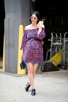 Eva Chen Pregnancy style