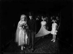 Martin Chambi. Mariée dans la demeure des Montes, Cuzco, 1930