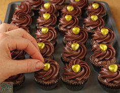 Four-Ingredient Nutella Cupcakes | OhNuts.com