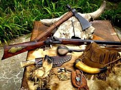 Mountain man accoutrements