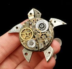 Must try this one in miniature - maybe even use some of her discarded shell…