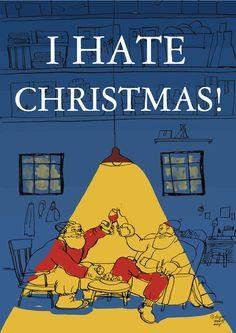 I hate christmas.!