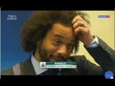 Marcelo elogia Cristiano Ronaldo e  Messi Difícil alguém chegar no patam...