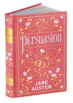 Persuasion (Barnes & Noble Leatherbound Classics) by Jane Austen $16.85