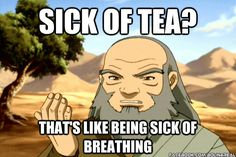 Iroh gives yet another wise piece of advice.