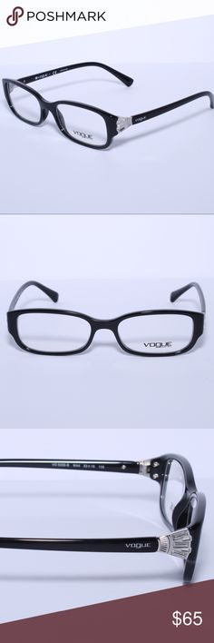 ccc1359603ce Vogue Eyeglass Frames Black Brand New Authentic Vogue Eyeglass Frames -  Black Comes with Generic Case