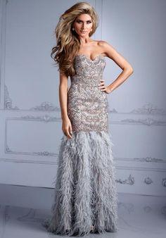 Terani Evenings Dress GL2308 at Peaches Boutique