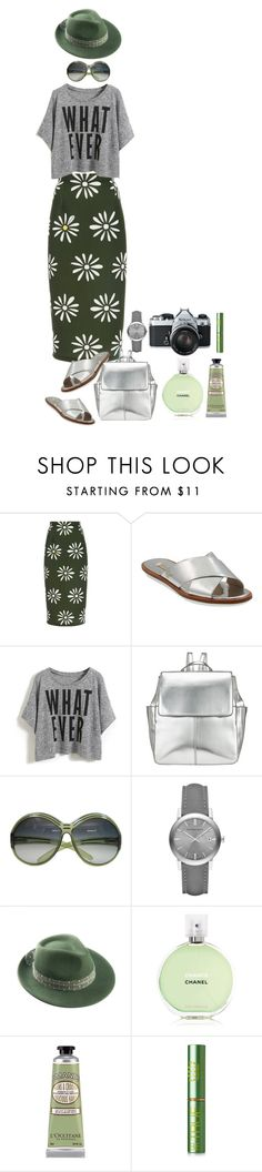 """""""Style#751"""" by mussedechocolate ❤ liked on Polyvore featuring moda, Natasha Zinko, Louise et Cie, Kin by John Lewis, Christian Dior, Burberry, Mademoiselle Slassi, Nikon, Chanel y L'Occitane"""