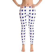 Items similar to White Blue Lemon Pattern Leggings ,High Waist Yoga Shorts Workout Leggings on Etsy Yoga Shorts, Workout Leggings, Pattern Leggings, Pajama Pants, Trending Outfits, Image, Blue, Etsy, Fashion