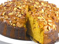 """This fabulous harvest cake is one of my favorite """"no time to bake"""" cakes. Most people are proud to bake a cake from scratch. Some even feel using a cake mix is cheating. So that makes me a cheater. This cake is super moist due to the ca"""