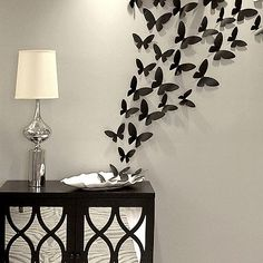 Rowhouse 40-pc. Butterflies Wall Decor Set