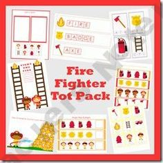Firefighter pack Printables Shop - | Teachers Notebook. It's free, but you have to sign up