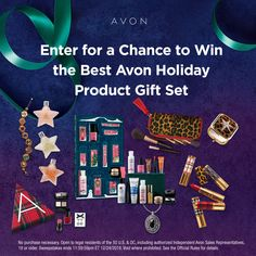 I just entered the Avon Giving is Everything Sweepstakes for a chance to win all of my favorite Avon holiday products! 12 Days Of Christmas, Before Christmas, Christmas Ideas, Free Sweepstakes, Avon Sales, Avon Brochure, Avon Rep, Avon Online, Avon Products