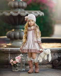 Welcome 2019 and all the new exciting projects! Little Girl Models, Little Girl Fashion, Cute Little Girls, Child Models, Little Girl Dresses, Toddler Fashion, Cute Kids, Kids Fashion, Flower Girl Dresses