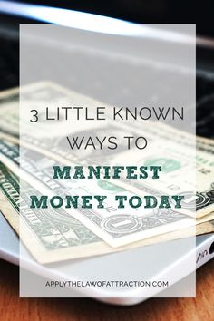 Are you looking to manifest money fast? This article includes exactly what you…