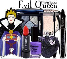 Evil Queen makeup Disney Bound