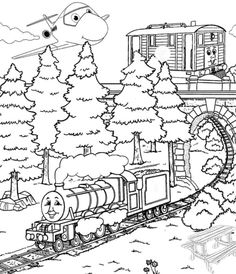 Printable Henry With Friend Train Coloring Pages - Thomas And Friends Coloring Pages : KidsDrawing – Free Coloring Pages Online