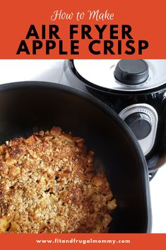 A healthy, quick and easy dessert recipe. How to make apple crisp in the air fryer. Gluten Free Apple Crisp, Apple Crisp Recipes, Healthy Dessert Recipes, Easy Desserts, Air Fry Recipes, Air Fryer Recipes Gluten Free, Quick Recipes, Desserts Sains, Summer Salads With Fruit