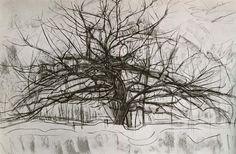 Tree II, 1912 by Piet Mondrian http://www.piet-mondrian.org/tree-2.jsp#