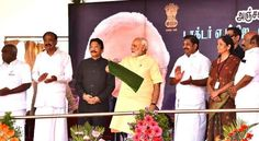Chennai: Prime Minister Narendra Modi on Thursday flagged off a weekly train linking the pilgrimage centres of Ayodhya in Uttar Pradesh and Rameswaram, saying both are linked to Lord Rama. The Rameswaram Faizabad Rameswaram via Ayodhya weekly express is equipped with bio-toilets, Modi said,...